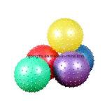 Jump Yoga Ball with Handle, différentes couleurs et impression de logo sont disponibles