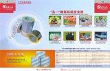 Etiqueta auto-adhesivo de PVC materiales