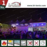 VIPの贅沢のラウンジのためのABS堅い壁が付いている20m x 50mの最も高いピークの二重デッカーのテント