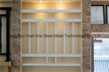 Barandilla de acero galvanizada decorativa de alta calidad 40 del balcón de la aleación de Haohan Alluminum