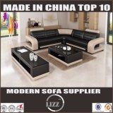 Sofá Mueble de casa moderna de cuero real para sala de estar