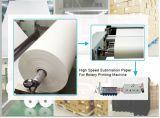 A largura 58GSM de Skyimage 1.8m seca rapidamente o papel de transferência contra onda do Sublimation para a impressora Inkjet rápida super de Reggiani