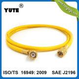 SAE J2888 3/8 de pulgada de la barrera de nylon de la manguera de carga de caucho sintético