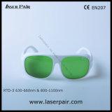 635нм красный луч и 808нм, 980нм лазерный диод защитные очки с защиты длина волны излучения: 630 - 660 Нм и 800 - 1100 нм