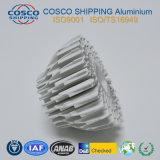 Perfil de aluminio competitivo para el disipador de calor con la anodización y trabajar a máquina naturales