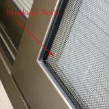 Fábrica de aluminio de la ventana de la lumbrera del vidrio de desplazamiento de los marcos de la capa del polvo