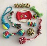 바이트 바이트 밧줄 두 배 매듭 매듭 애완 동물 장난감