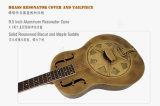 Cor dourada Vintage Corpo Metálico de latão Violão Resophonic acústico para venda