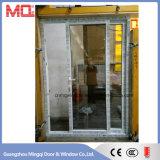 Portello scorrevole di vetro esterno di UPVC/PVC con il sistema multipunto della serratura