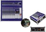 1000 W de potência profissional com amplificador misturador Dem1200d