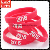 Fashion Promotion Custom Silicone Chain Bracelet avec logo