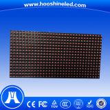 Rouge P10 extérieur de matrice simple imperméable à l'eau de la couleur DIP546 DEL