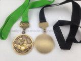 Médaille en métal de Nwb, médaille de dénomination en métal (GZHY-JZ-029)