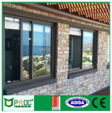 Alluminio lustrato doppio Windows scorrevole/Windows di alluminio in Cina Pnocpi07