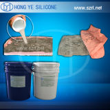 Caoutchouc de silicone RTV similaire à Oomoo 30 pour le moulage de béton