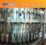 ガラスビンの炭酸水・のびん詰めにする機械装置