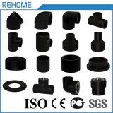 Matériau Pn10 Pn16 de polyéthylène de pipe de HDPE d'ISO4427 PE100