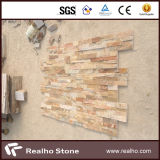 Natürliches rustikales Kultur-Steinwand-Fassadenelement
