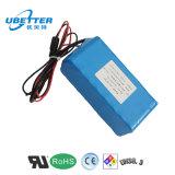 18650 bloco da bateria de lítio de 12V 8400mAh para a bateria leve solar