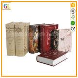 Дешевое книжное производство книга в твердой обложке с нестандартной конструкцией
