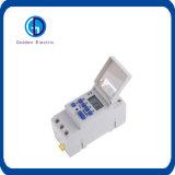 Interruptor programável do temporizador da C.C. 12V 16A de Thc15 Digitas LCD