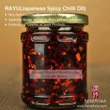Salsa di Tassya Rayu (salsa piccante giapponese dell'olio dei peperoncini rossi)