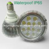 24W 알루미늄 방수 IP64 LED PAR38 빛