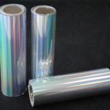 Горячая штамповка голографической фольги пленки для ткани и пластиковой упаковки
