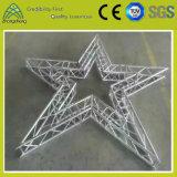 Armature en aluminium en forme d'étoile de systèmes de support d'éclairage d'étape pour la performance d'étape