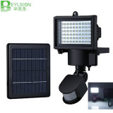 10W 60LED Proyectores LED Solar Sensor de movimiento PIR