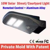 2016 nuovo indicatore luminoso solare esterno della parete del sensore di movimento della lampada del giardino di energia solare di alta luminosità 16 LED del prodotto di illuminazione