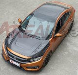 Capa de capota de fibra de carbono para Honda Civic X 2016