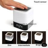 Управлением касания формы СИД диктор черни USB Bluetooth светлым Suqare портативный