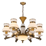 Neue Leuchter-Beleuchtung-Lampe des Entwurfs-2017 mit Marmor und Kristall (SL2272-6)