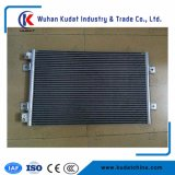 Graduador del motor con el aire acondicionado frío y caliente