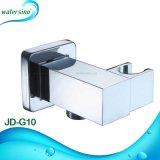 Neues Entwurfs-Quadrat-Messingchrom-Dusche-Halter-Badezimmer-Zubehör