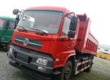 180HP Dongfeng 쓰레기꾼 4X2 트럭 10 톤 Dump10 T 팁 주는 사람