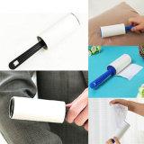 Rullo appiccicoso del lint di pulizia della maniglia di plastica del dispositivo di rimozione dei vestiti della polvere