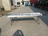 meubles extérieurs de 8FT de Tableau de pliage en plastique pour la vente en gros