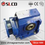 Motore ad ingranaggi elicoidale della vite senza fine dell'asta cilindrica della cavità di alta efficienza della serie S