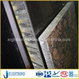 Preço mais baixo do painel de alumínio alveolado de mármore de pedra para materiais de construção