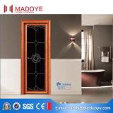 Дверь ванной комнаты Индии с цветным стеклом для новой конструкции