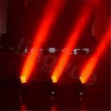 feixe movente das cabeças de 9X10W RGBW matriz clara do diodo emissor de luz da potência do DJ do PRO