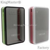 Cargador de batería portable de la carga de la alta capacidad de Kingmaster 8400mAh de la batería rápida de la potencia