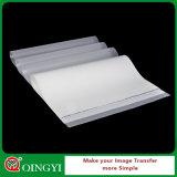 Пленка любимчика Mylar холодного шелушения Qing Yi лоснистая белая для стикера
