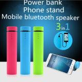 2800mAh 3 en 1 banco de potencia con soporte y altavoz Bluetooth