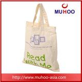 Bolso reciclado orgánico reutilizado Eco del algodón del bolso de la manera que hace compras para el regalo