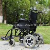Sedia a rotelle elettrica pieghevole portatile per Disabled con Ce