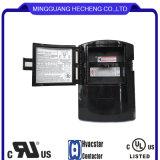 Interruptor antiderrapante preto não fundido 60A 120V para condicionadores de ar, bombas de calor