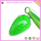 Masterbatch verde con la materia prima plástica
